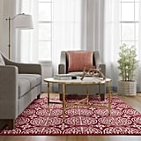 Medallion Washable Tufted and Hooked Rug