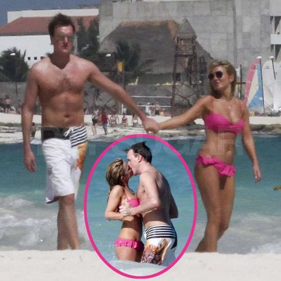 Pictures of Geri Halliwell in Bikini Kissing Henry Beckwith On Holiday in Mexico