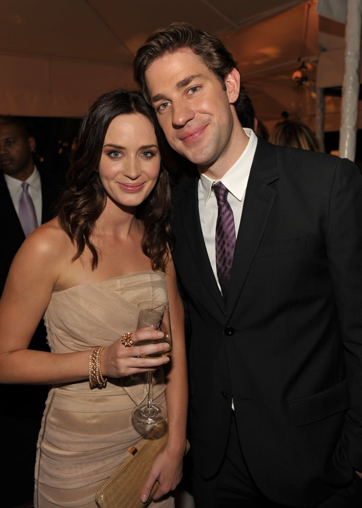 emily blunt and john krasinski in 2009