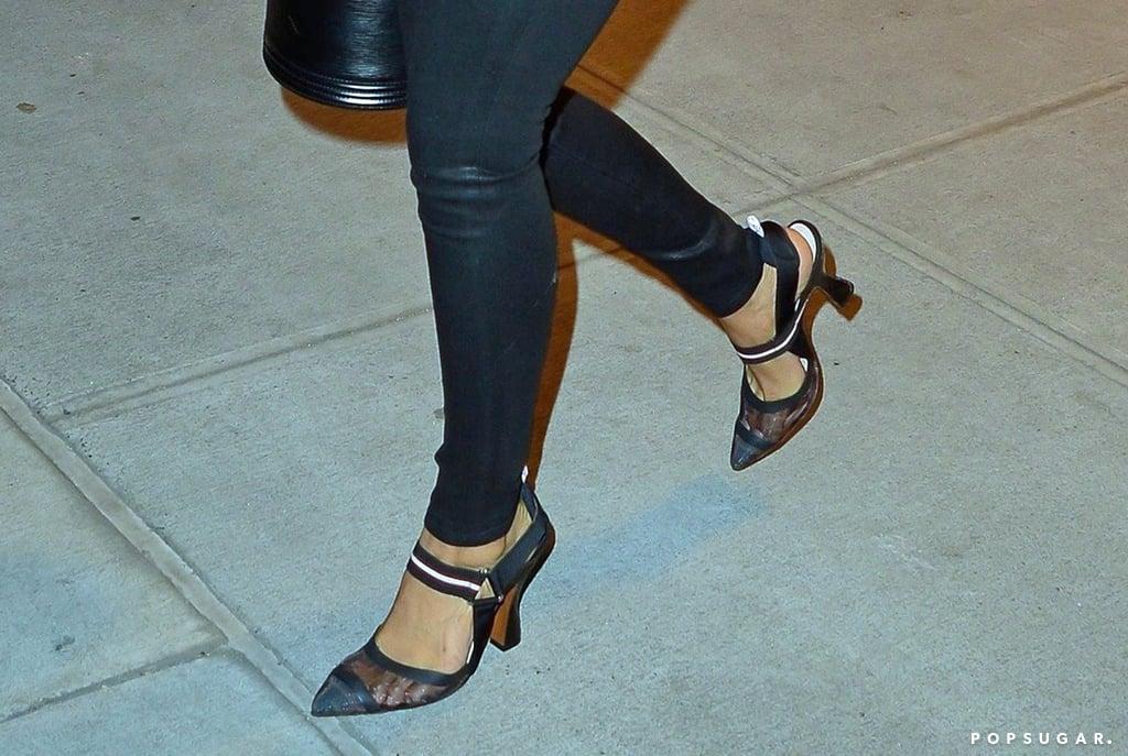2670b665b31 Priyanka Chopra Fendi Heels