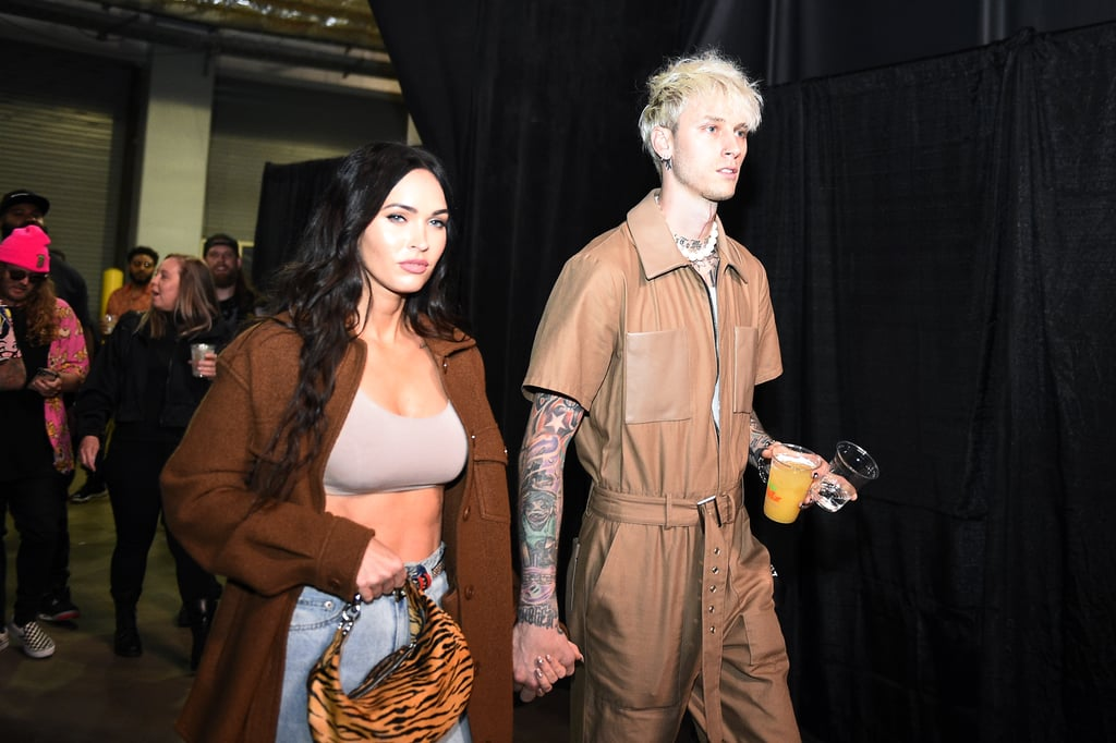 When it comes to stylish celebrity couples, a few come to mind — Gigi Hadid and Zayn Malik, Dua Lipa and Anwar Hadid, Beyoncé and JAY-Z . . . the list goes on. But what makes these duos stand out isn't just whipping up great outfits; they find ways to complement each other without compromising their own personal flair, creating fashion moments to remember. A (relatively) new couple on the scene, Megan Fox and Machine Gun Kelly have done just that, quickly developing a striking sense of couple style that has put them at the top of my watch list. The actress and the rapper have always been fashion risk-takers — Megan practically wrote the book on sexy red carpet looks and MGK's rocker style requires a whole lot of experimentation — and together, their daring pop-punk approaches just work, without feeling too cheesy or matchy-matchy.  While their intriguing matching looks at last week's Billboard Music Awards were simply incredible (especially Megan's epic cutout dress), the couple's most fashionable moments aren't just reserved for red carpets. Even their laid-back date-night outfits manage to look expertly coordinated with minimal effort. Ahead, take a look back at the pair's best looks together.      Related:                                                                                                           I Can't Be the Only One Obsessing Over Megan Fox's Style Lately, Right?
