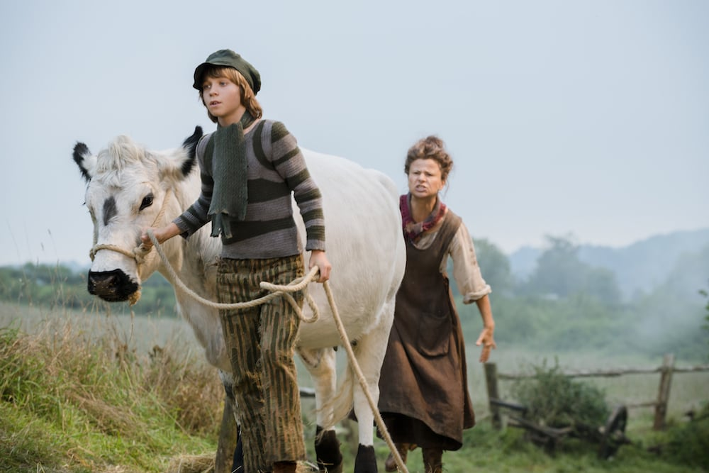 Daniel Huttlestone as Jack and Tracey Ullman as Jack's Mother.