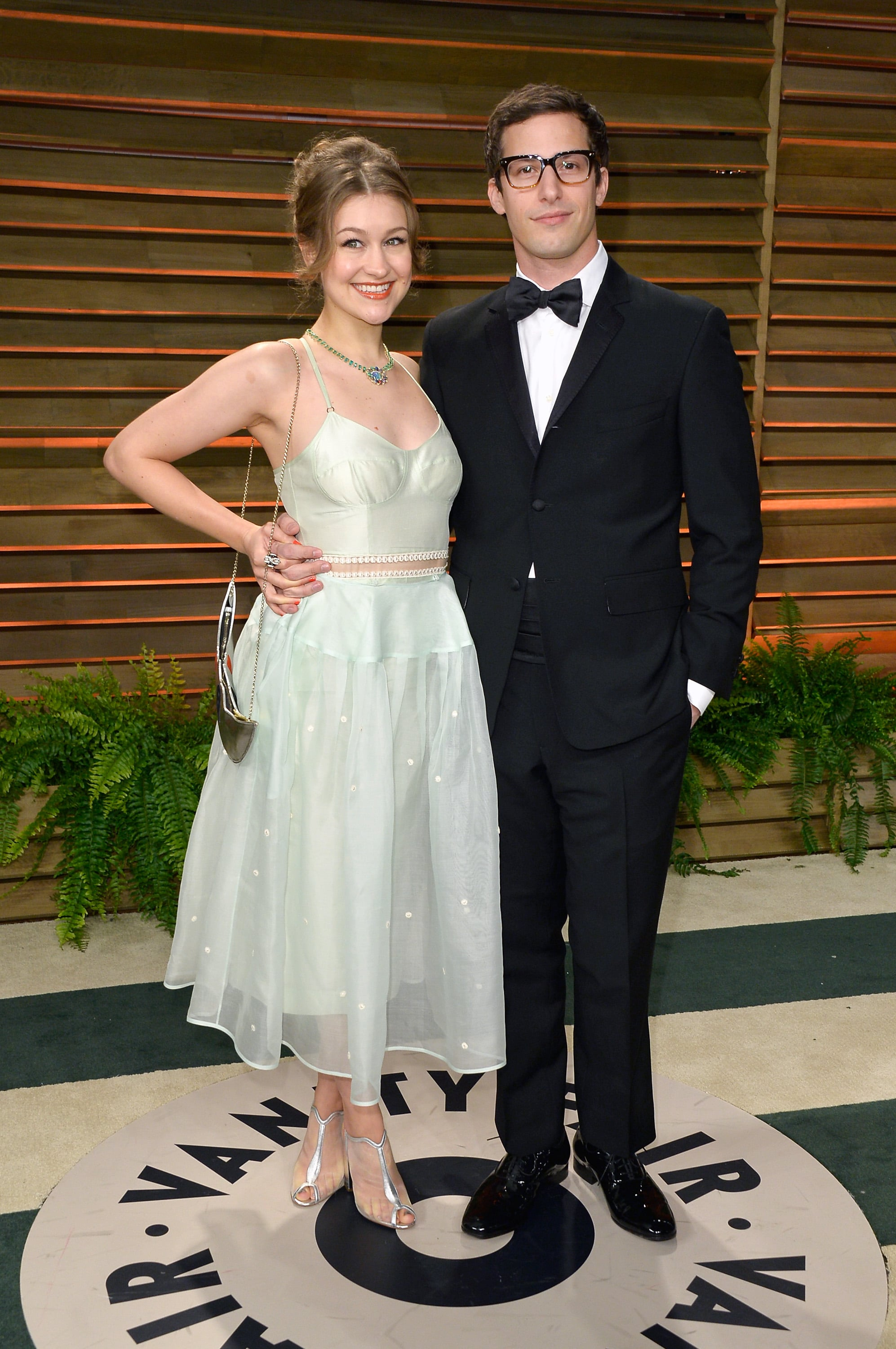 Andy Samberg and his wife, Joanna Newsom, looked cute ...