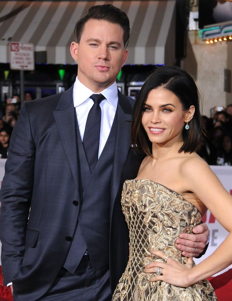 Channing Tatum and Jenna Dewan Tatum Hail, Caesar ...