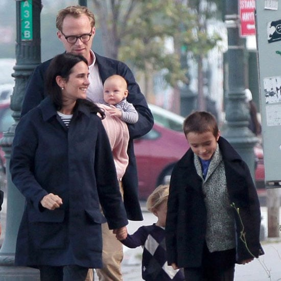 Jennifer Connelly and Baby Agnes Pictures in NYC