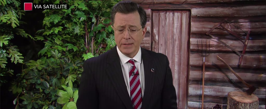 Stephen Colbert Says Goodbye to Bill O'Reilly