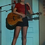 Taylor Swift performed at the 40 Principales Awards in Spain.