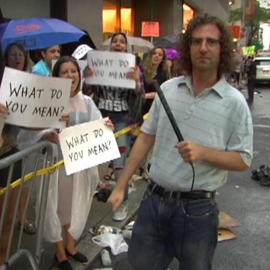 Kyle Mooney Interviews Justin Bieber Fans on SNL