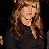 Jennifer Aniston With Auburn Hair