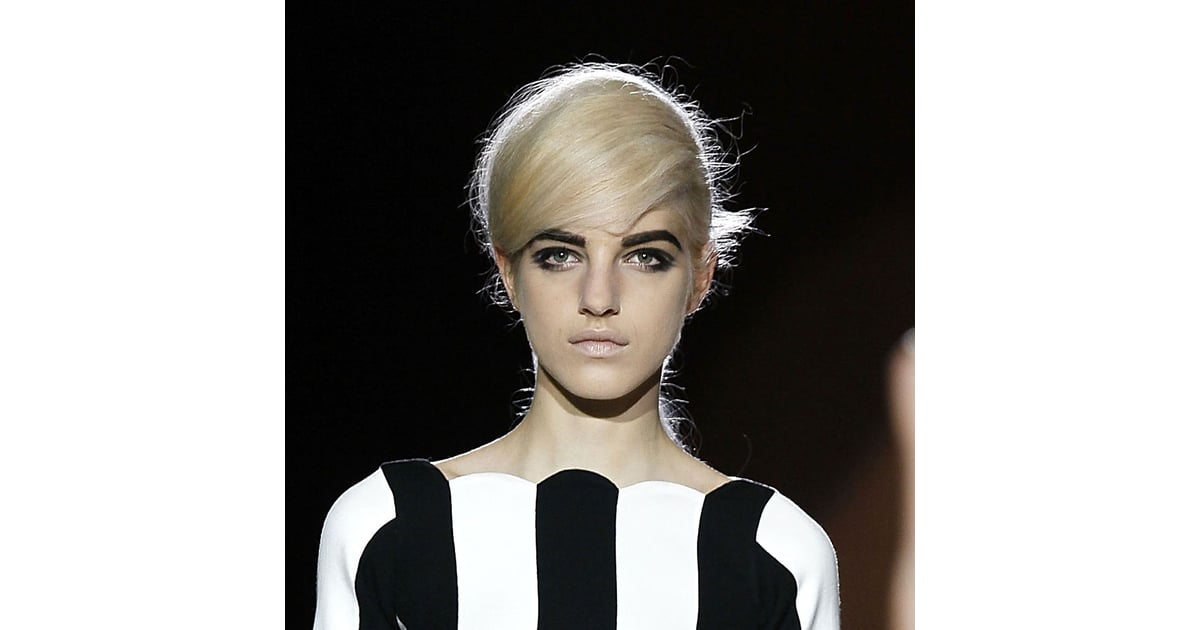 Photos Of The Bouffant Hair And 60s Makeup Look At Marc