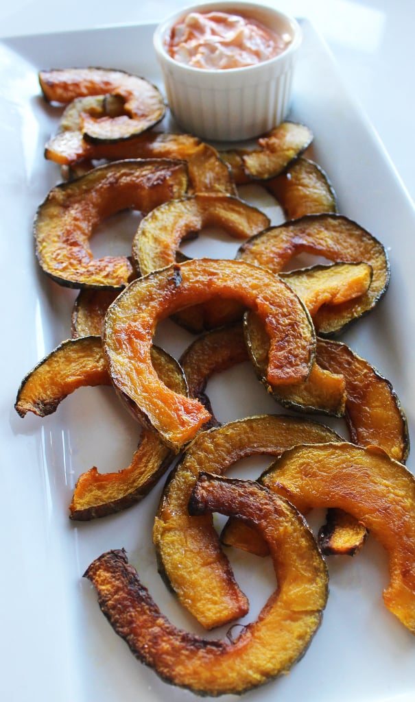 Kabocha Squash Fries With Spicy Sriracha Yogurt