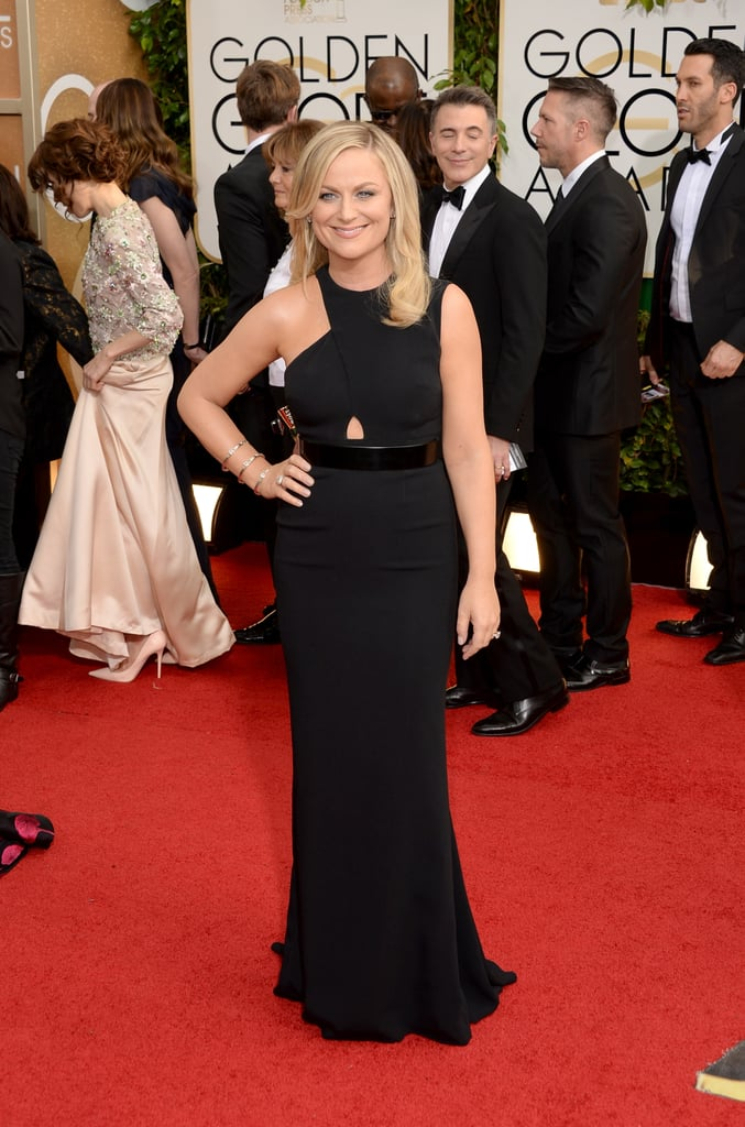 Amy Poehler at the Golden Globes 2014