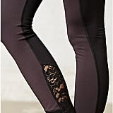 Pure + Good Cross Front Lace Leggings