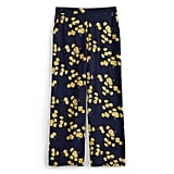 High Rise Wide Leg in Tossed Wildflowers
