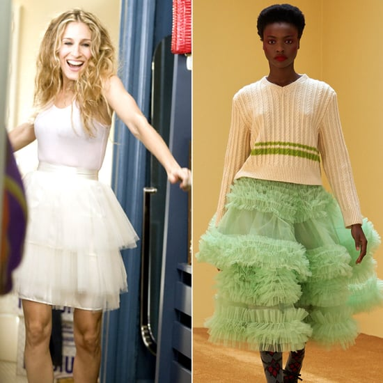 Fall 2021 Fashion Trends: The Return of the Tulle Skirt