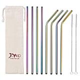 These Pretty Iridescent Straws