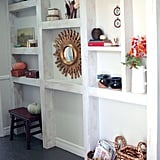Fall-Decorated Built-Ins