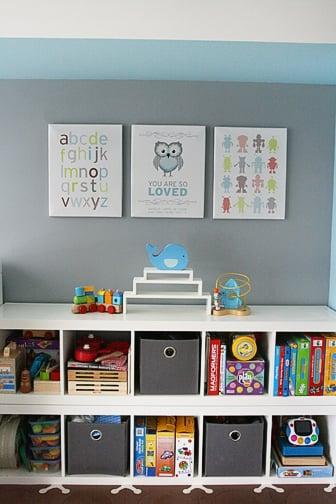 Kid Level Storage Ikea Expedit Bookshelves Popsugar