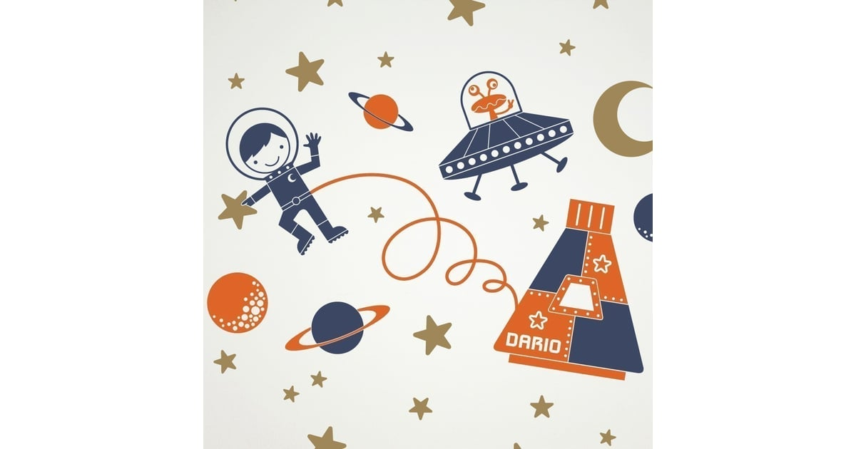 Outer space vinyl wall decal sticker set 70 space for Outer space vinyl wall decals