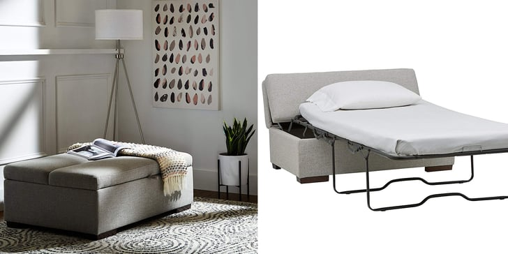 Convertible ottoman sofa bed on amazon popsugar home - What is a sofa bed ...