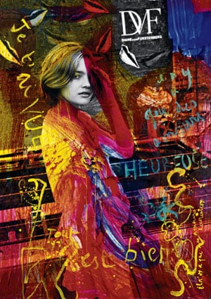 Fab Ad: Diane von Furstenberg Spring '08