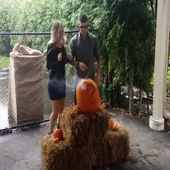 Fall Pumpkin Gender Reveal