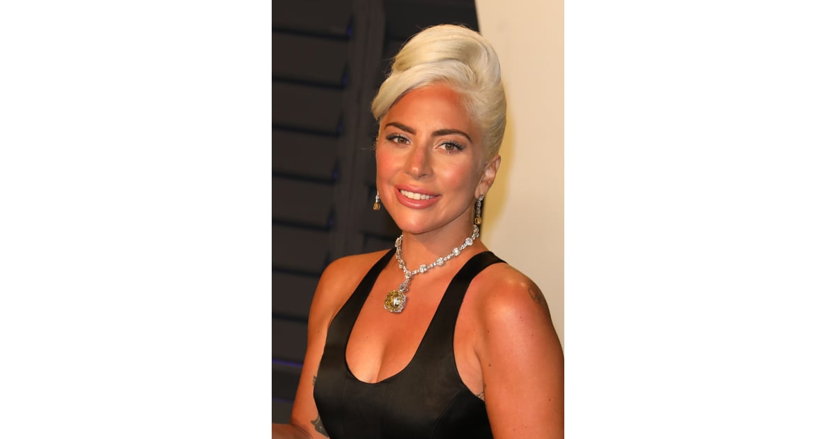 Lady Gaga Wears 128 Carat Yellow Tiffany Diamond Necklace