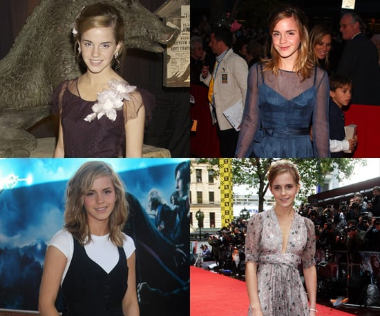 Photos of Emma Watson on the Red Carpet for Harry Potter