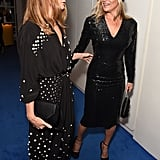 With Stella McCartney.