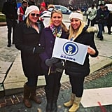 """At the inauguration supporting Obama."" Source: Instagram user lauren_desjardins"