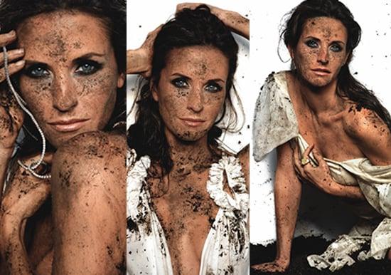 Courteney Cox Gets Dirty