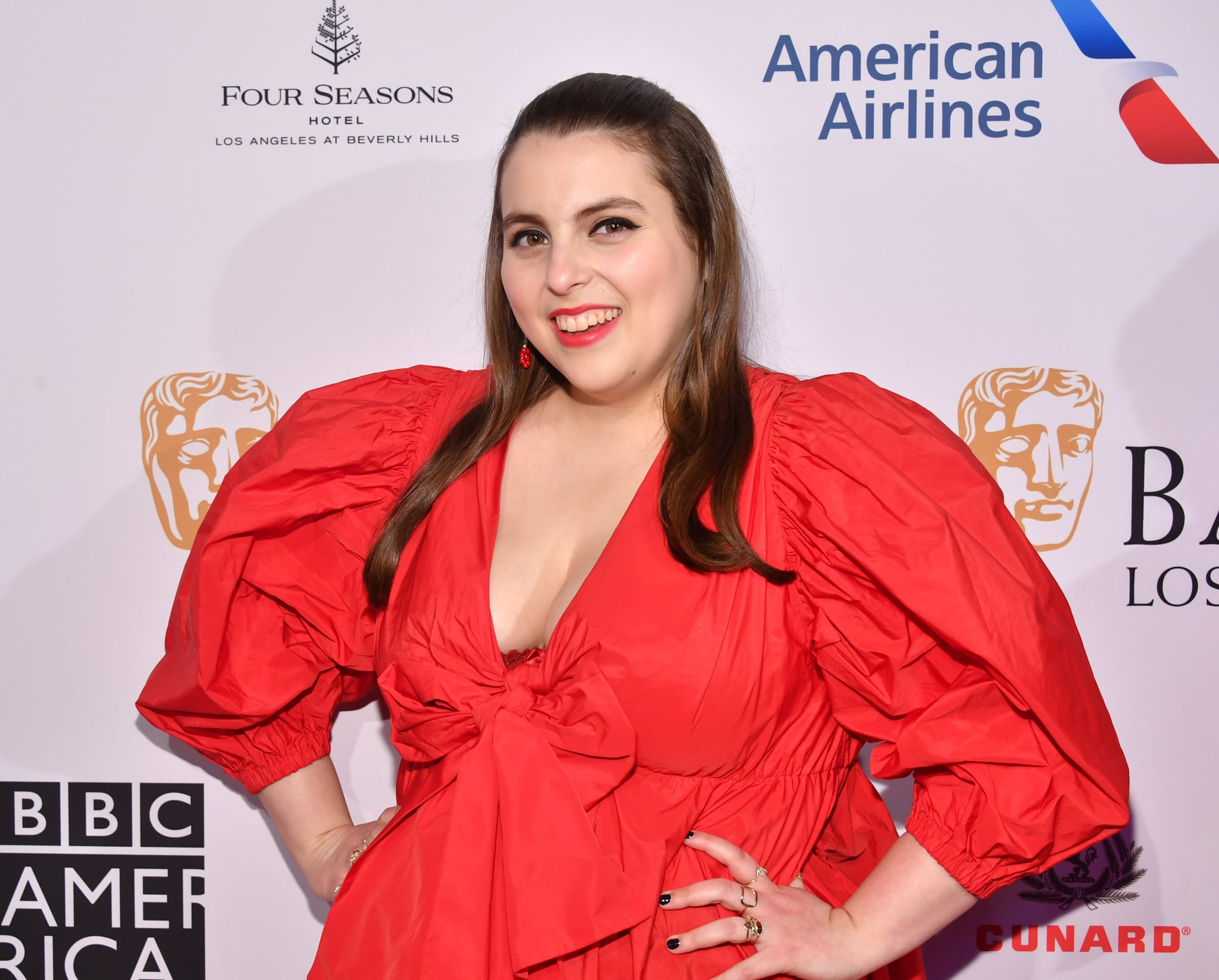LOS ANGELES, CALIFORNIA - JANUARY 04: Beanie Feldstein attends The BAFTA Los Angeles Tea Party at Four Seasons Hotel Los Angeles at Beverly Hills on January 04, 2020 in Los Angeles, California. (Photo by Amy Sussman/Getty Images for BAFTA LA)