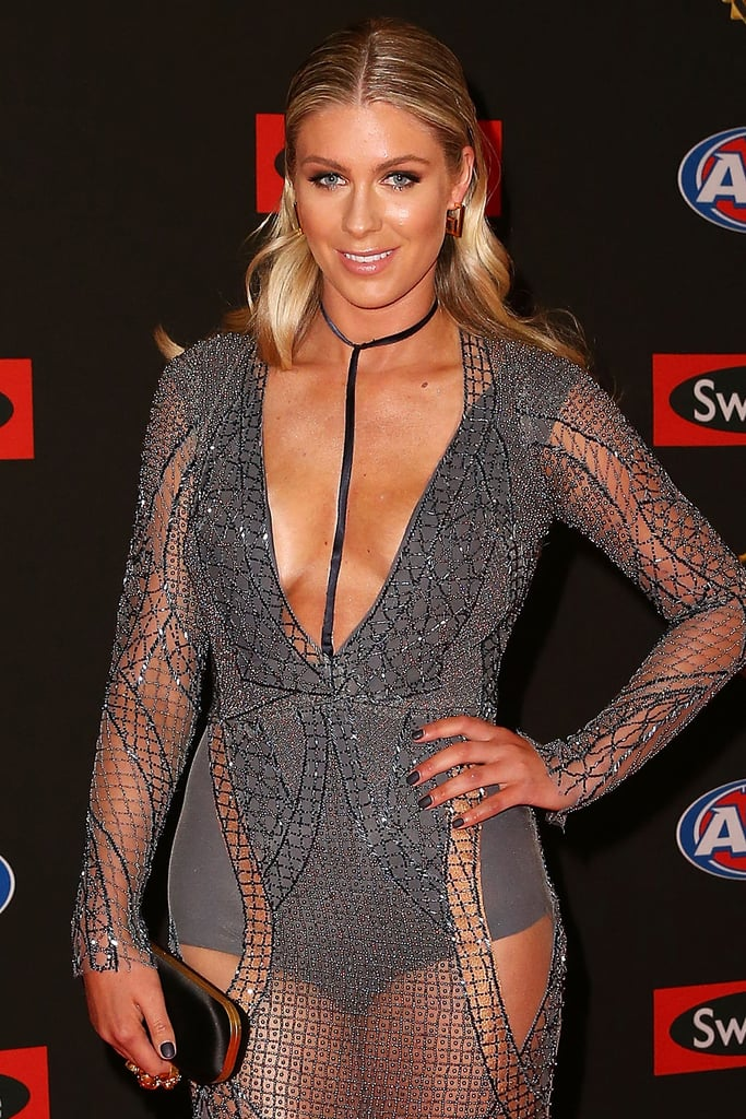 Rebeccah Panozza 2015 Brownlow Medal Wags Hair And