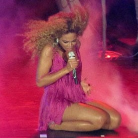 Beyoncé Knowles Concert at the Palais Nikaïa Nice Pictures