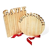 Personalized Large Vertical and Round Cutting Boards