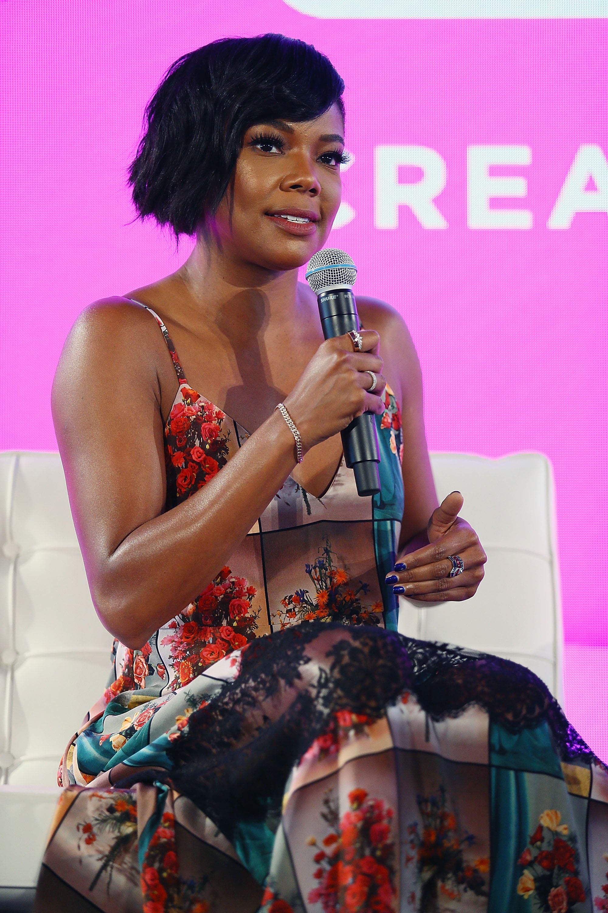 NEW YORK, NY - AUGUST 08:  Gabrielle Union attends #BlogHer18 Creators Summit at Pier 17 on August 8, 2018 in New York City.  (Photo by Astrid Stawiarz/Getty Images)