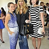 Jennifer Meyer, Rachel Zoe, and Chriselle Lim at Diane von Furstenberg's tea and shopping event to benefit LACMA.  Source: Donato Sardella