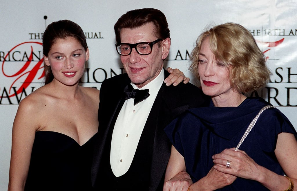 He arrived with Laetitia Casta and Loulou de la Falaise to the 1999 CFDA Awards in New York City.