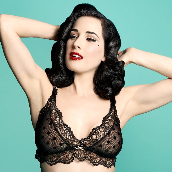 Dita Von Teese Launches Nursing Bra Collection