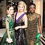 Sarah Paulson, Dianna Agron, and Lupita Nyong'o