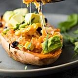 Freezer-to-Oven Enchilada-Stuffed Sweet Potatoes