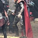 Chris Hemsworth as Thor.