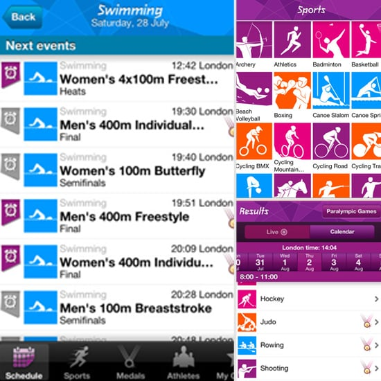 London 2012: Official Results App (Free)