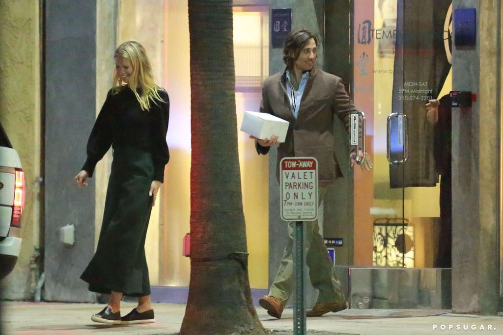 Gwyneth Paltrow Celebrates Her Boyfriend's Birthday With a Romantic Night Out