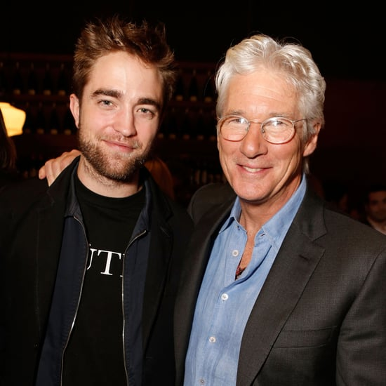 Robert Pattinson With Richard Gere in LA