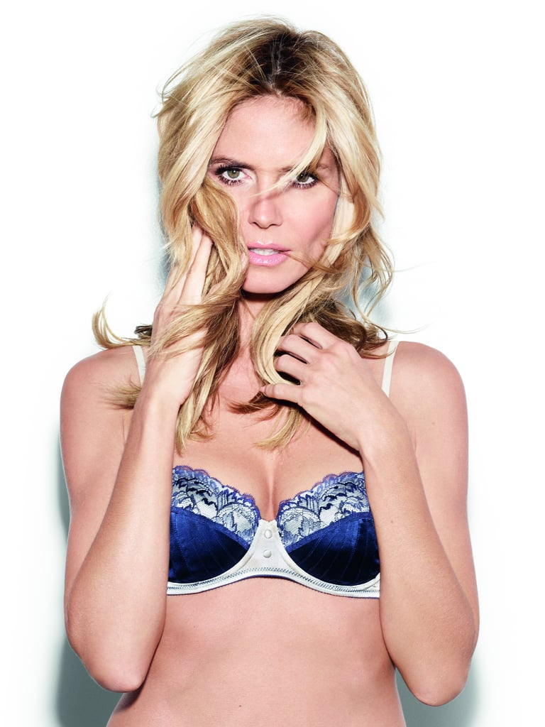Heidi Klum Gives Her Best Lingerie Tips