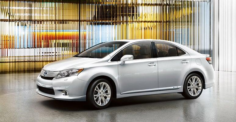 Photos of the Lexus HS Hybrid Sedan