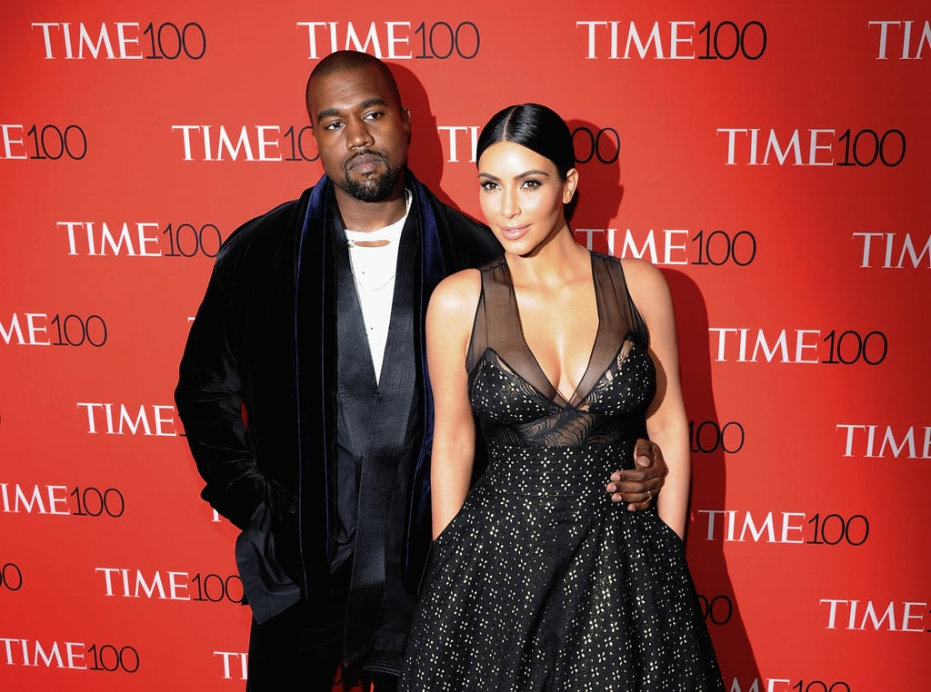 When Kanye and Kim Hit the Red Carpet, There Will Be Cleavage