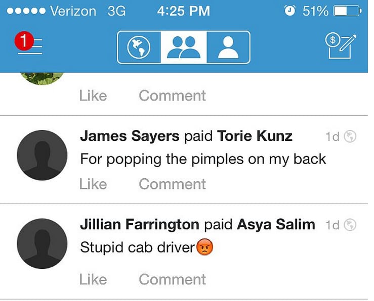 Hilarious Venmo Payments