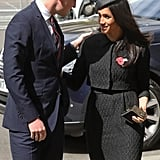 The pair's interaction at an April event in London appeared kind and casual.